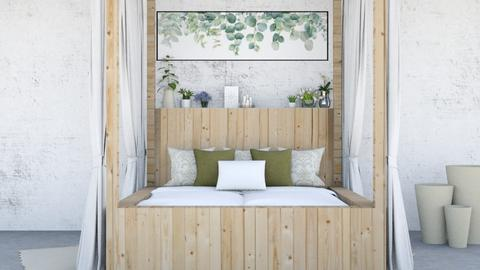 Above bed plant room - Bedroom  - by yellowAri