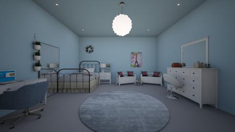 Modern Girl bedroom - Modern - Bedroom  - by Sophia_Pavate_