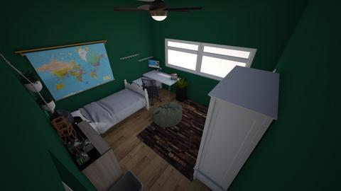 my room design 2 - Bedroom  - by deeidiot