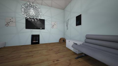 Nada AbuNadar livingroom - Living room - by nadaabunadar