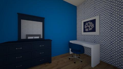 navt bedroom - Modern - Bedroom  - by PeculiarLeah