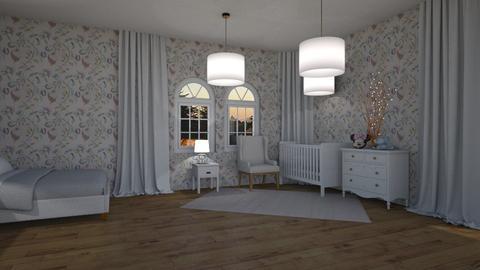 Sweet - Classic - Kids room  - by marysiawiszniowska