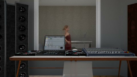 Record Studio - Minimal - Office  - by Savina Ivanova