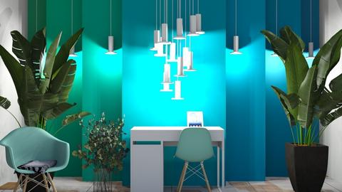 aqua vibes - Modern - Office  - by logz mcw