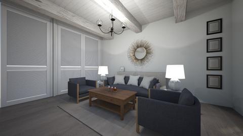 vjeuf - Vintage - Living room  - by berebonita