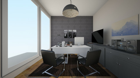 Escritório - Glamour - Office  - by Brendha Cavalcanti_551