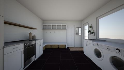 Flora Mudroom - Kitchen  - by WhiteBrickHomeCo