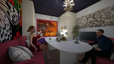 Orionaute Room - Bedroom  - by PAPIdesigns