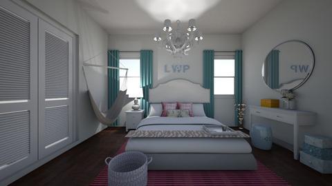 Tinsley Bedroom - Feminine - Bedroom - by marymbarbee
