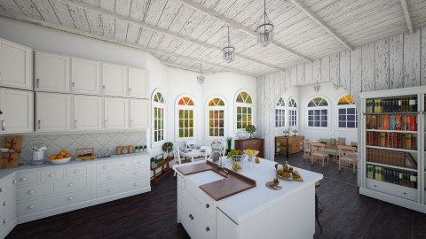 Moder Farmhouse  - Rustic - Kitchen - by Ali Ruth