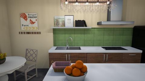 Backsplash 6 - Country - Kitchen  - by KajsaRain