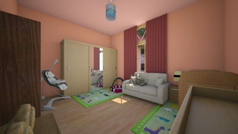 Dozsa - Glamour - Kids room  - by Ritus13