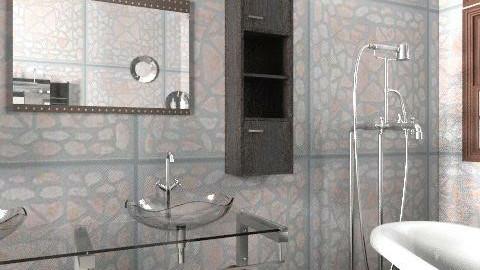 B - Modern - Bathroom  - by milyca8