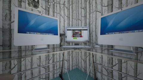 Gamer bedroom - Modern - Bedroom  - by Storm Bringer16