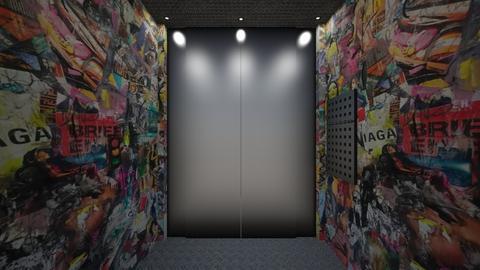elevator - by Nan92