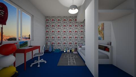 Drewey - Rustic - Bedroom  - by emivim