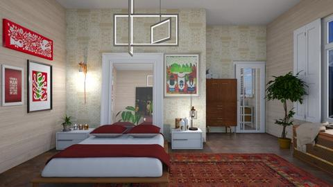 Eclectic - Eclectic - Bedroom  - by augustmoon
