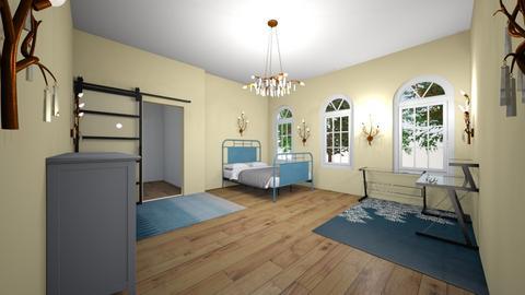 bed room - Bedroom  - by Maya Raymond