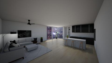 modern city apartment - Modern - by jeanmalia