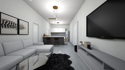 dn - Living room  - by ilinastamkova
