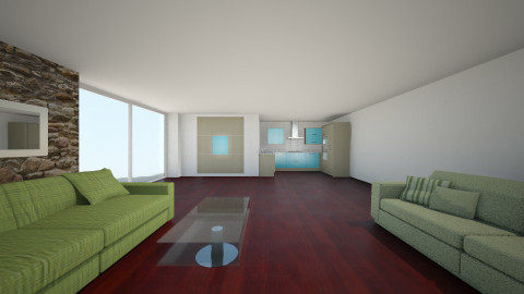 green family room - Living room - by popov_hristijan