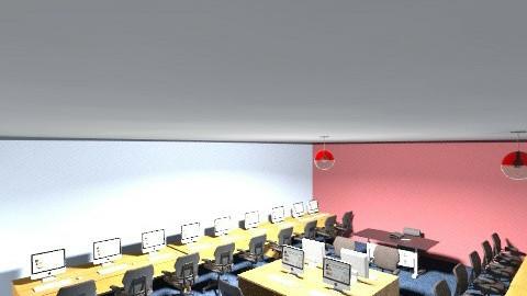 Computer Lab aw yiss - Modern - by jasmine_tanton
