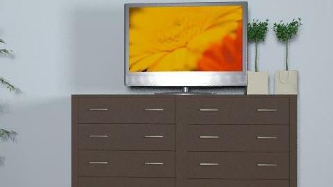 tv - Retro - Bedroom  - by popdesigner