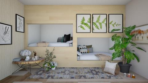 Bed bunks remixed - Classic - Bedroom  - by Meghan_and_Pheebs