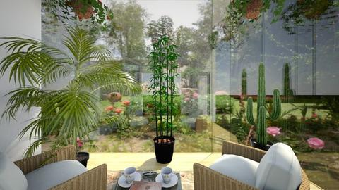 Spring Sunroom - Garden  - by SammyJPili