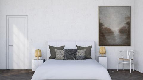 Minimal Bedroom - Modern - Bedroom - by HenkRetro1960