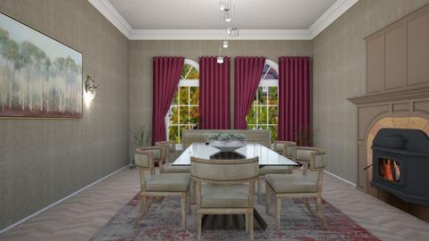 dinner  - Classic - Dining room  - by rcrites457