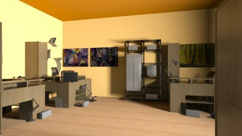 csajos room - Glamour - Office  - by Ritus13