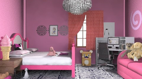 awesomeness - Glamour - Bedroom  - by anniebannanie