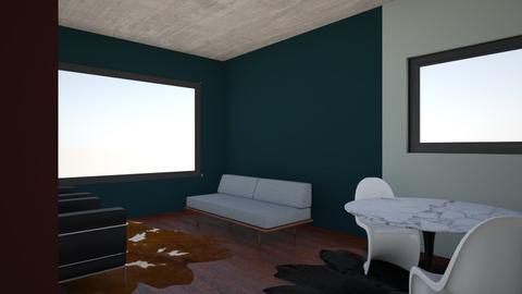 ProfvandenVelden - Living room - by KanitaM