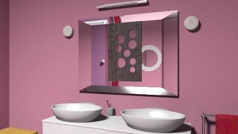 bathroom1 - Glamour - Bathroom  - by rebdu26