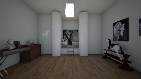 Horse Bedroom - Bedroom  - by riordan simpson