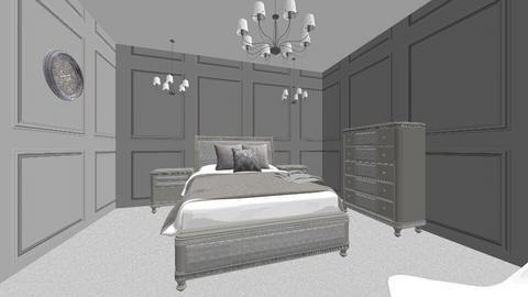 Luxury bedroom - Glamour - Bedroom  - by kaitlynalaska