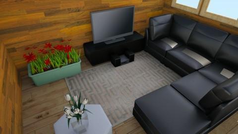 Clase de Tecnologia - Minimal - Living room - by Adrian Nio