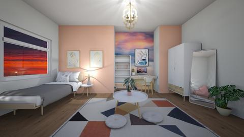 Teen bedroom - Feminine - by SpookyjimKilljoy