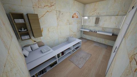 simple modern bathroom - Modern - Bathroom  - by Stavroula Chatzina