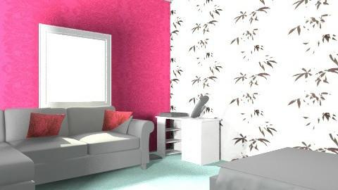bryony howard - Retro - Bedroom  - by bryony howard