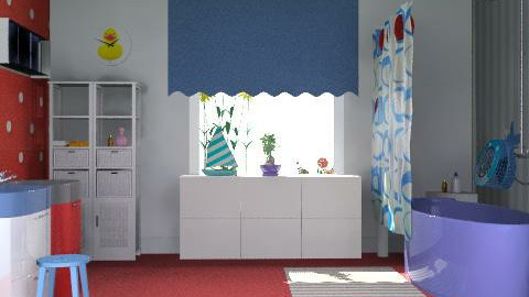 chids bath - Classic - Kids room  - by aceitunilla