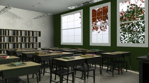 Classroom - Eclectic - Kids room  - by natyes