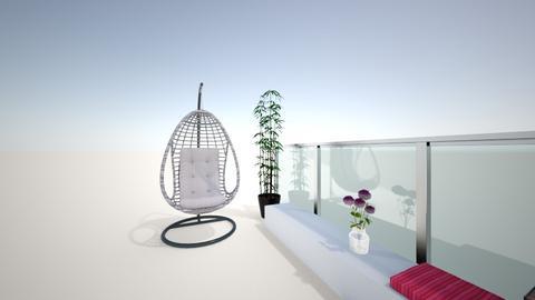 balcony - Garden - by andjela_Z1