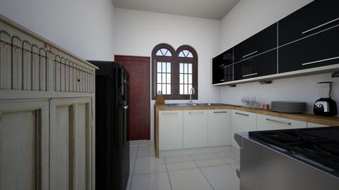 kitchen 1 - Classic - Kitchen  - by sandeepa