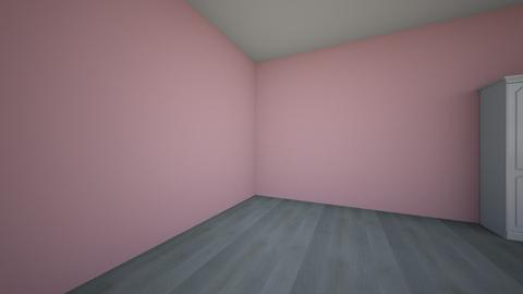 twin girls bedroom - Kids room  - by tafinx01
