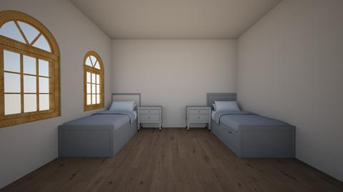 basic dorm room _Academy_ - Minimal - Bedroom  - by hrhsjr4