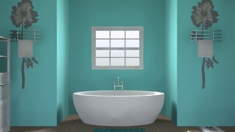 bathroom - Minimal - Bathroom  - by malou84