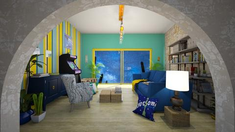 bgy living space - Rustic - Living room - by Rho