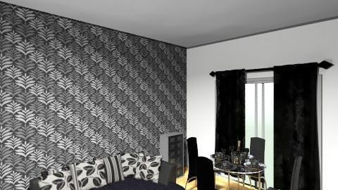 Noir - Glamour - Living room  - by EmpressiveMe